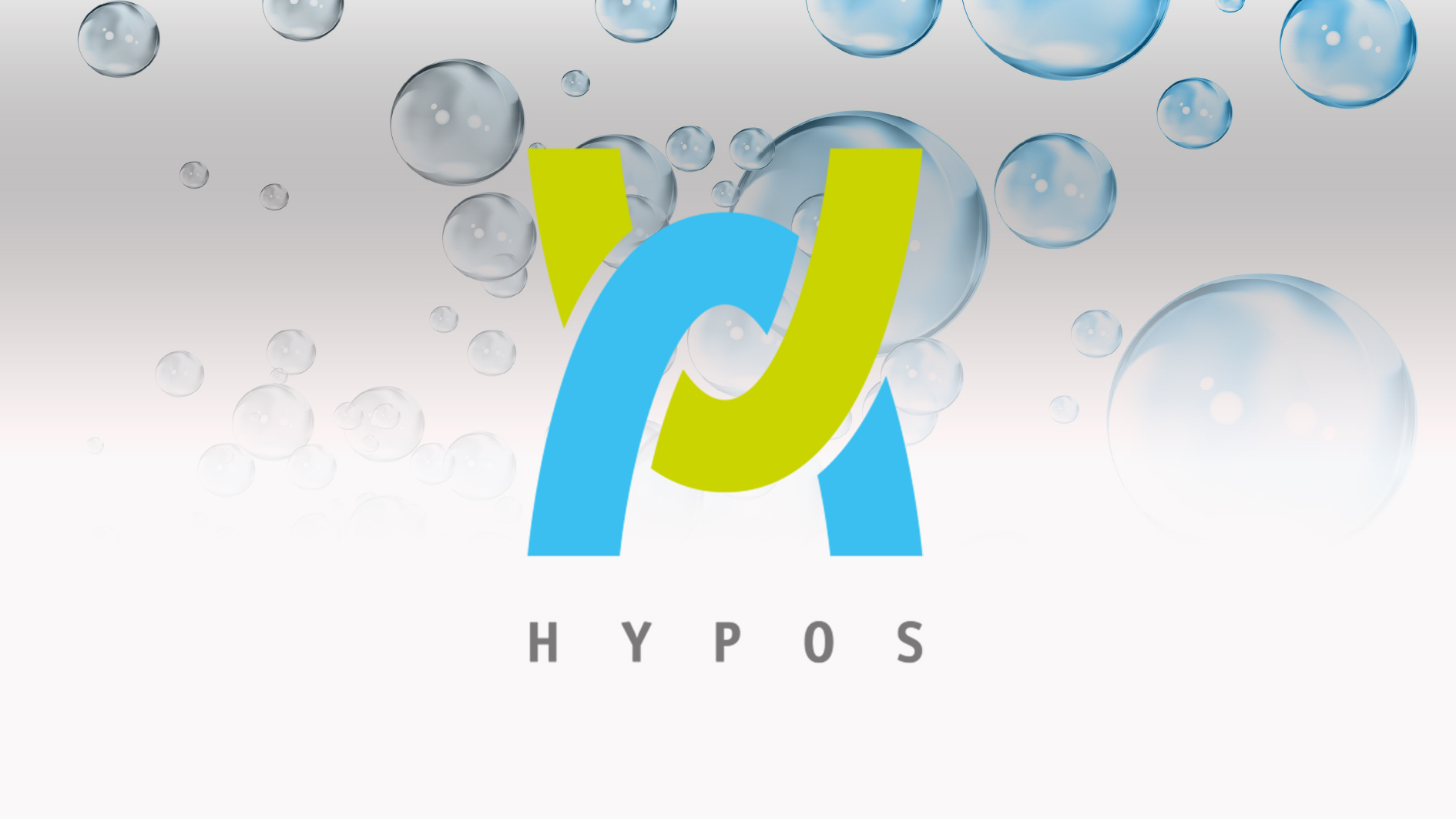 Logo of Hypos on a white background